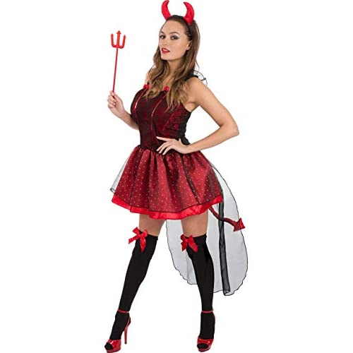 ORION COSTUMES Adult Halloween Cute Devil Costume
