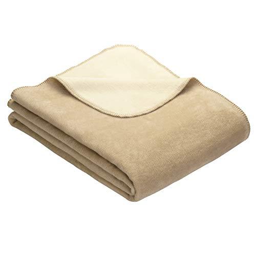 Ibena Sesselschoner Dublin 2340 / Sesselauflage Creme/wollweiß/Polsterschoner 50x200 cm/Schüzt optimal vor Verschmutzung und Abnutzung/in vielen Größen erhältlich