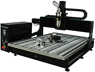 JFT 6090 CNC Router 2200W Square Rail Engravings Machine For Metal? Marble? Wood (USB port+4 axis)