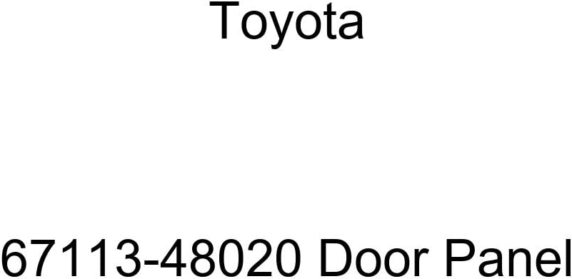 Genuine Toyota All items in the store 67113-48020 Door Panel Rapid rise