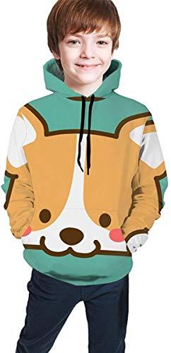 Casual Pullover Hoodie Hooded Sweatshirt trainingspakken voor jongens meisjes tieners Junior