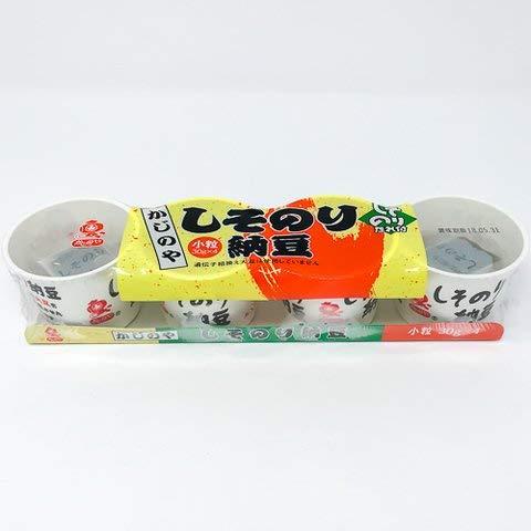 カジノヤ しそのり納豆カップ 30gx4 【冷凍・冷蔵】 4個
