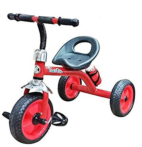 Nagar International Baby Tricycle for Kids in Good Quality in Low Price (Red, 2-5 Years)