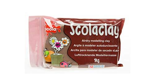 Scolaquip Terrakotta-Lufthärte Lehm, 1kg, Educational Arts Zubehör für Kinder