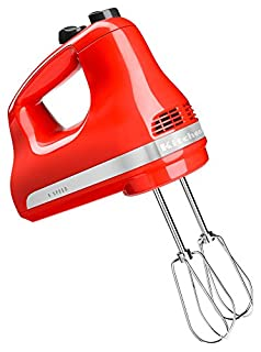 KitchenAid KHM512HT 5-Speed Ultra Power Hand Mixer, Hot Sauce (B01BWNIRNU) | Amazon price tracker / tracking, Amazon price history charts, Amazon price watches, Amazon price drop alerts