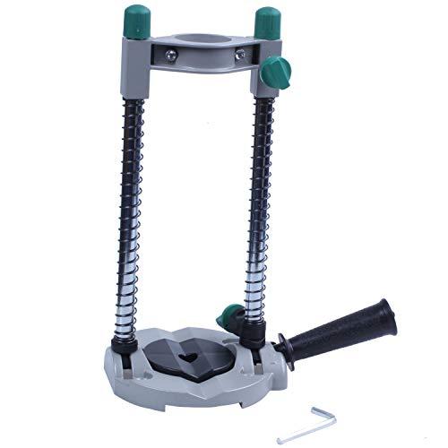 Precisie Boor Gids Pijp Boor Houder Stand Boren Gids met Verstelbare Hoek en Verwijderbare Handvat DIY Tool