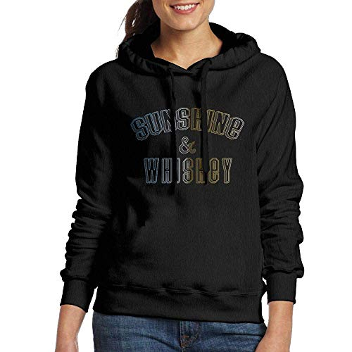 RtOnbra Hoodie for Women Sunshine and Whiskey Casual Hooded Pullover Sweatshirt