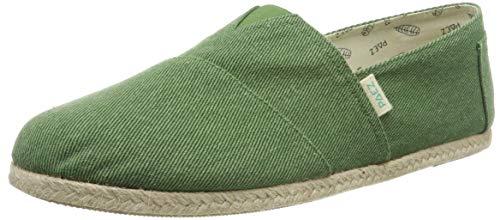 PAEZ Classic Essential Green, Alpargatas para Hombre, Verde (Verde 418), 45 EU