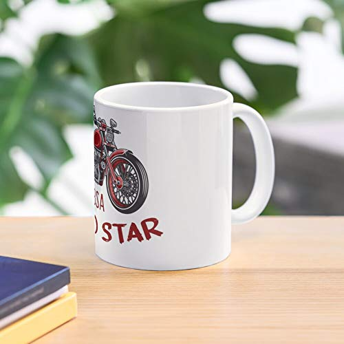 bsa gold star. 11 Oz Premium Quality printed Coffee Mug, Comfortable To Hold, Unique Gifting ideas for Friend/coworker/loved ones
