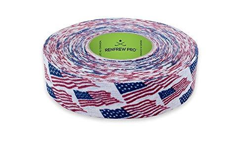Renfrew Scapa Tapes Hockey-Tape, hell oder gemustert, 2,5 cm, USA, 2,5 cm