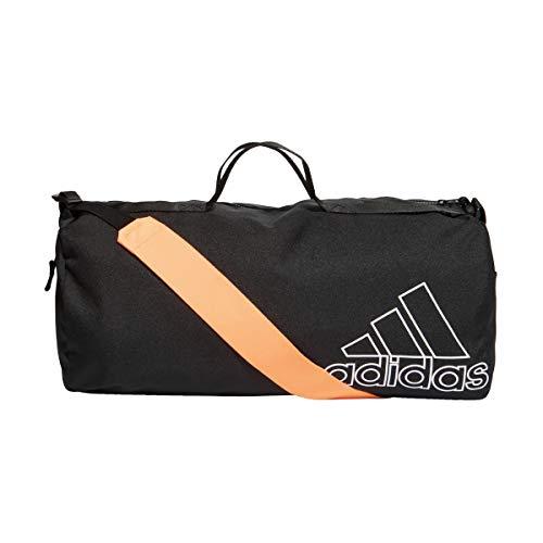 adidas GM4549 W ST DUFFEL Gym Bag womens black/white NS