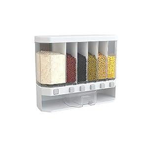 Granos Cubo De Arroz Caja De Almacenamiento Cocina Tanque De Almacenamiento Apto Para Almacenar Arroz Harina Frijoles Frutos Secos Integrales Té