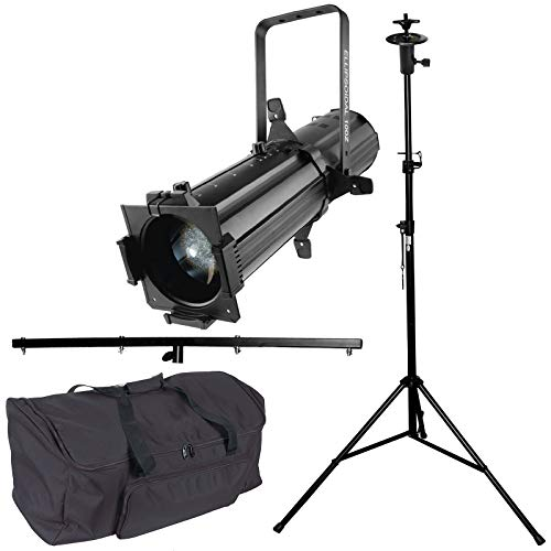 Chauvet DJ EVE E-100Z Ellipsoidal Warm White Spot Light with T-Bar Stand and Carry Case Package