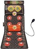 Cojines de masaje Colchón de masaje de cuerpo completo Colchón de masaje eléctrico Colchón de masaje Silla Cojín Almohada multifuncional masaje de la vibración