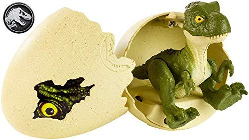 Jurassic World - Tyrannosaurus Rex Uova Schiudi e Gioca, Giocattolo per Bambini 3+ Anni, GFN75