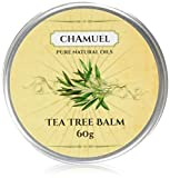 TEA TREE OIL BALM -100% All Natural | Relieves Common Skin Irritations. Great Cream for Soothing Eczema, Psoriasis, Rashes, Dry Chapped Skin, Cuticles, Hemorrhoids, Saddle Sores and more!