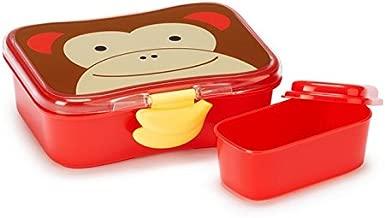 Skip Hop Baby Zoo Little Kid and Toddler Mealtime Lunch Kit Feeding Set, Multi, Marshall Monkey
