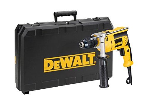 Dewalt DWD024KS-QS Taladradora de percusión en maletín de Transporte DWD024KS, 650 vatios, W, 230 V, Negro y amarillo