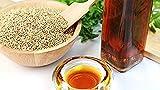 Aceite de sésamo orgánico filtrado y desodorizado 5000 ml - con dispensador Aceite de masaje, cutículas, uñas, aceite capilar, primer prensado en frío