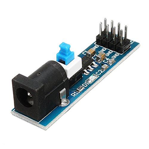ILS AMS1117 voeding module 3,3 V met DC stekker en schakelaar