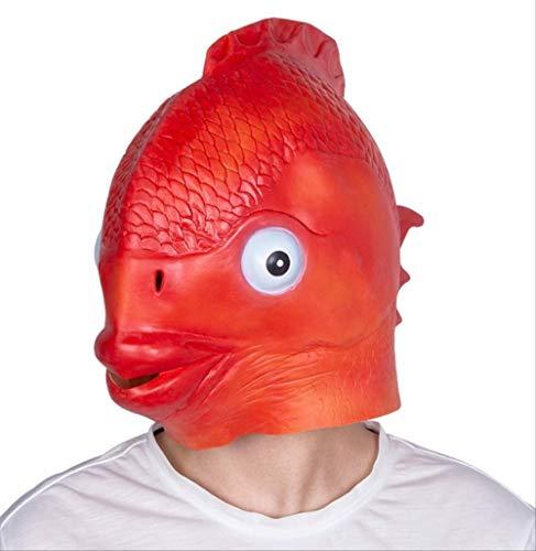 tytlmask griezelige vis pinguïn masker, rubber dier masker latex, voor grappige partij dier kinderen halloween maskerade masker