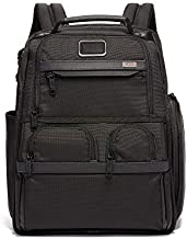 TUMI - Alpha 3 Compact Laptop Brief Pack - 15 Inch Computer Backpack for Men and Women - Black