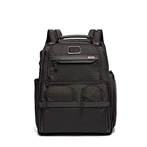TUMI – Alpha 3 Compact Laptop Brief Pack – 15 Inch Computer Backpack for Men and Women – Black