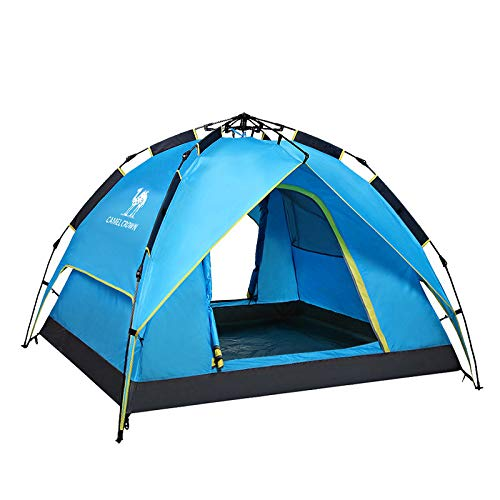 Ziyi Blow Up Tent,pop-up Tents,Outdoor Rainproof Tent,double-layer Automatic Tent,windproof And Splashproof,circulated And Breathable,durable Tent,portable Packaging