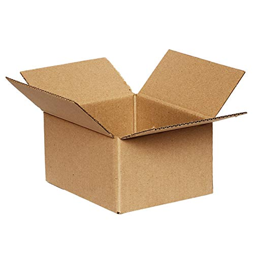 Pack of 5 – 200 mm x 200 mm x 110 mm Small Box Cardboard Packing Boxes Royal Mail Small Parcel Mailing Posting Shipping Brown 8' x 8' x 4 1/4'