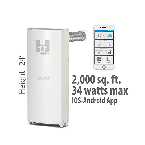 Best Buy! HandyCT Apartment dehumidifier and Extractor - HCS-APT-HC myHome Wireless & Mobile APP - T...