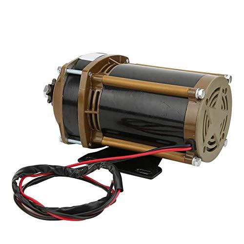 Keenso Motor de Engranaje de Metal Duradero de 24V 500W Motor de Engranaje Profesional Estable para Electro-Triciclo