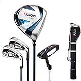 PGM Clubs complets pour débutants Golf, bâtons en Carbone, Sac de Sport Avec Sac de Sport