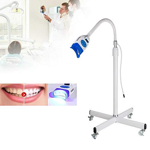 POEO Dental Zahn weiß Zahnaufhellung Aufhellung Weiße Bleaching LED Licht Lampe, Zahnaufhellung Licht Stand Beschleuniger Gerät