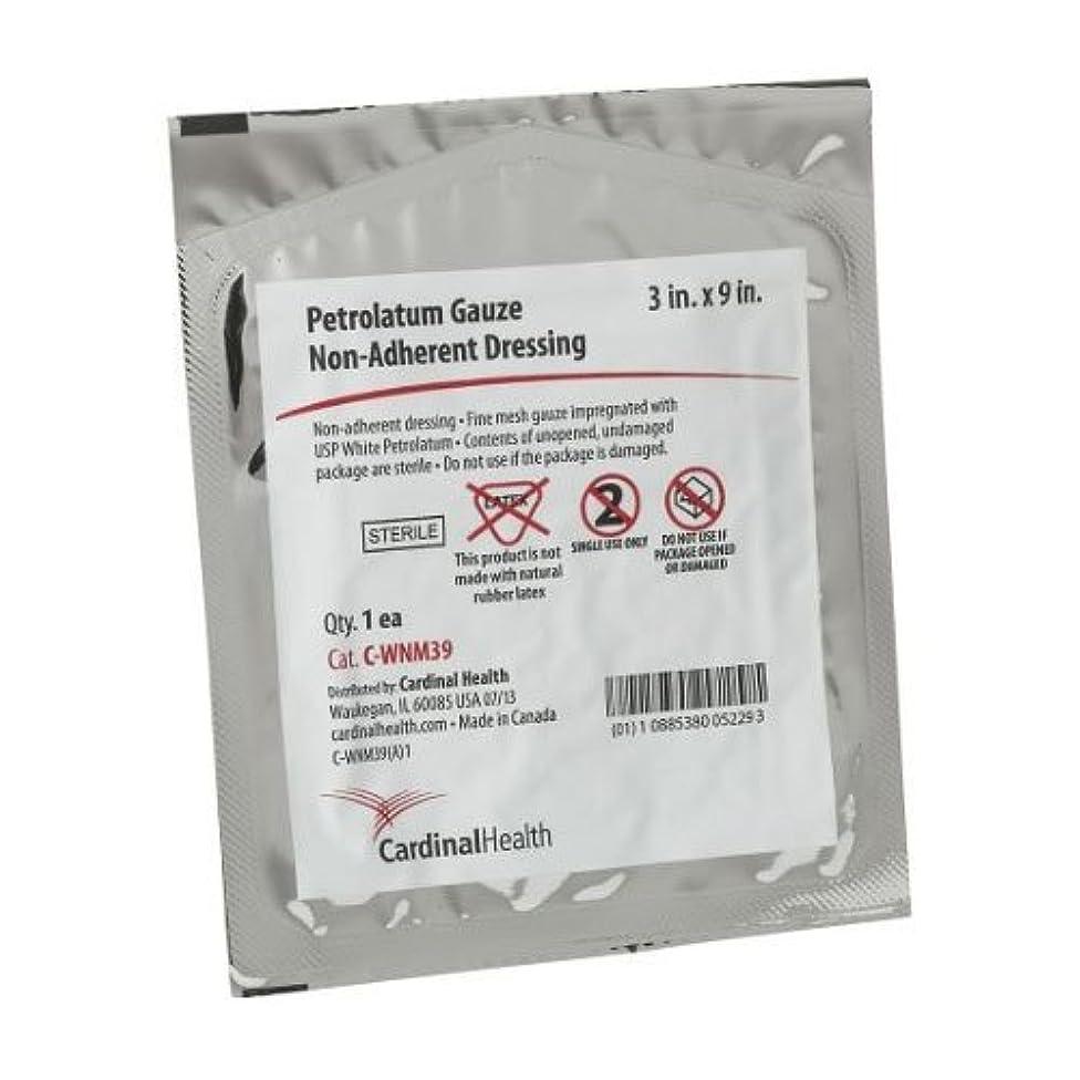 55CWNM39A - Cardinal Health Sterile Petroleum Gauze Non-Adhering Dressing 3 x 9 Replaces ZGIP39