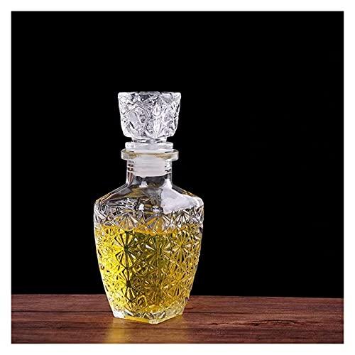 shiqi Creativo Transparente Vidrio Whiskey Licor Bebidas Vino Decanter Cristal espíritu Botella...