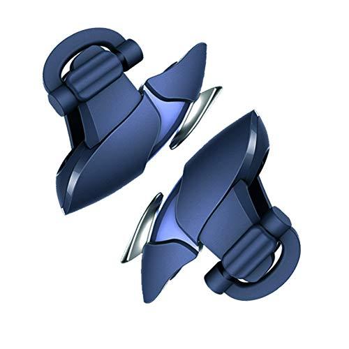 Joystick Smartphone Mobile Controller L1R1 Gamepad Cellulari Mobili Game, Squalo blu