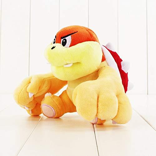 2 stijlen Super Mario knuffel Boom Boom Pom Pom Koopa Bowser Soft gevulde poppen Kinderen geschenken, Boom Boom