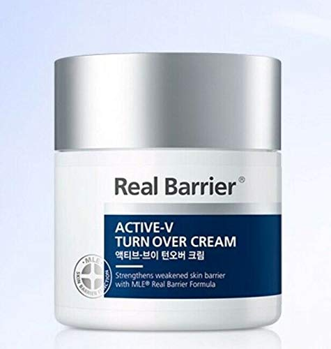 ATOPALM Real Barrier Active-V Turn Over Cream 50 ml Sensitive Aging Skin Barrier/K-Beauty