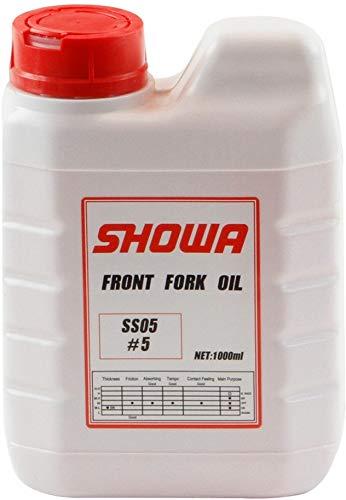 Showa Gabelöl Gabel Öl SS05 SS-05 1 Liter Flasche CR CRF Suzuki Kawasaki