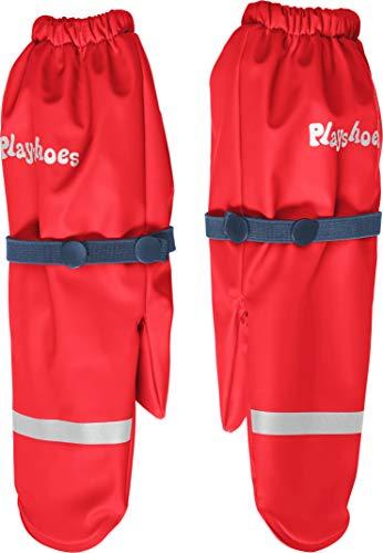 Playshoes Mädchen Matschhandschuh mit Fleece-Futter Handschuhe, Rot (Rot 8), 3 (Herstellergröße: 3)