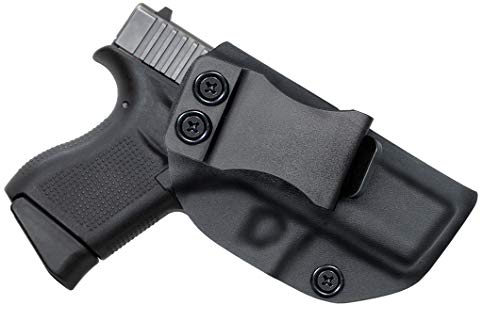 Spheresun Glock Holster, IWB KYDEX Holster Custom Fit: Glock 43/43X | Retired Navy Owned Company | Inside Waistband Concealed Carry Holster| Adjustable Cant