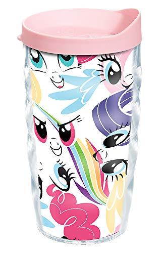 Tervis My Little Pony-All Over Pattern - Vaso aislante (10 onzas), transparente