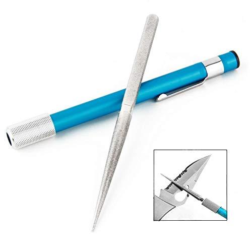 iwobi Tragbarer Diamant Schleifstift, Diamantschärfer Schleifstein Schleifer für Messer