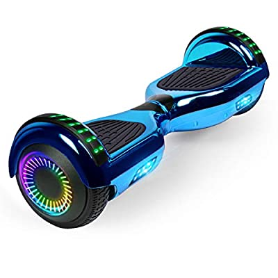 """FLYING-ANT Hoverboard w/Bluetooth Self Balancing Scooter 6.5"""" Two LED Light Wheels UL2272 Certified Outdoor Sports Easy to Begin Ideal Gift for Adult Kids"""