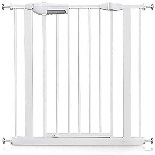 Säkerhetssäkerhet dörr trappa staket staket fri stansning skydd räcke hem inomhus isolering staket bekvämlighet (storlek: Bredd 195 – 204 cm)