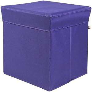 Phönix 817331HY Sitz und Aufebwahrungsbox Stor'It, 41 x 44 x 41 cm, hyazinth