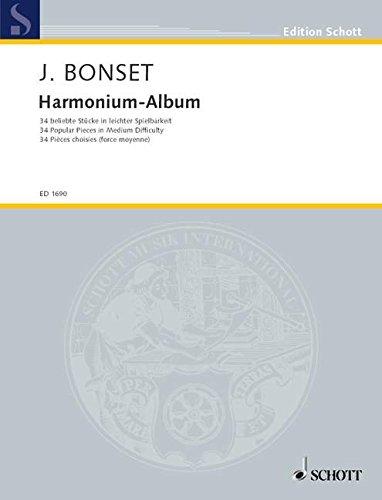 Harmonium-Album: 34 beliebte Stücke in leichter Spielbarkeit. Harmonium. (Edition Schott)