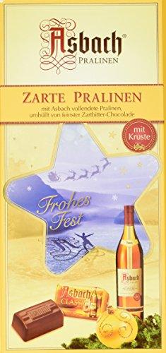 Asbach-Pralinen Packung mit Weihnachts-Aufkleber 250 g, 1er Pack (1 x 250 g)