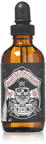 Grave Before Shave Beard Oil (Bay Rum Scent) 4 Oz. Bottle 1