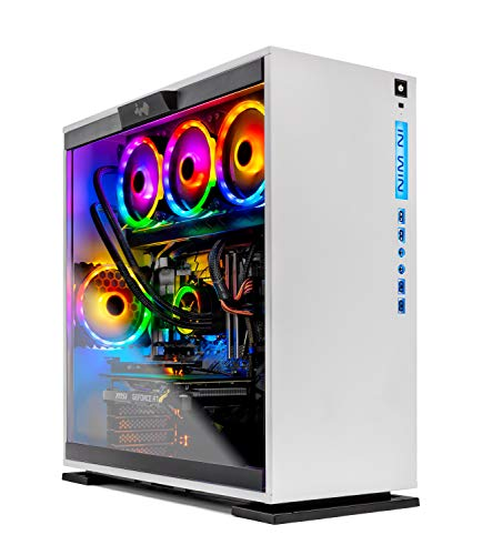 SkyTech Omega Gaming Computer PC Desktop – Intel i9-9900K 3.6GHz, 360mm AIO Liquid Cool, NVIDIA GeForce RTX 2080 Ti 11G, 1TB SSD, 16GB DDR4, RGB, AC WiFi, Windows 10 Home 64-bit